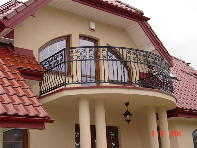 Cast balcony for Balcony balustrade