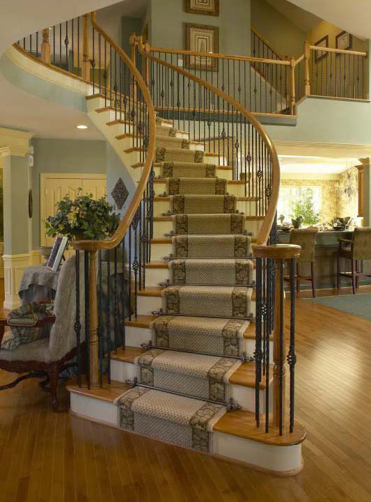 Cast Handrail