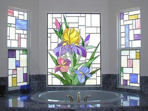 Stained glass for Window design new model