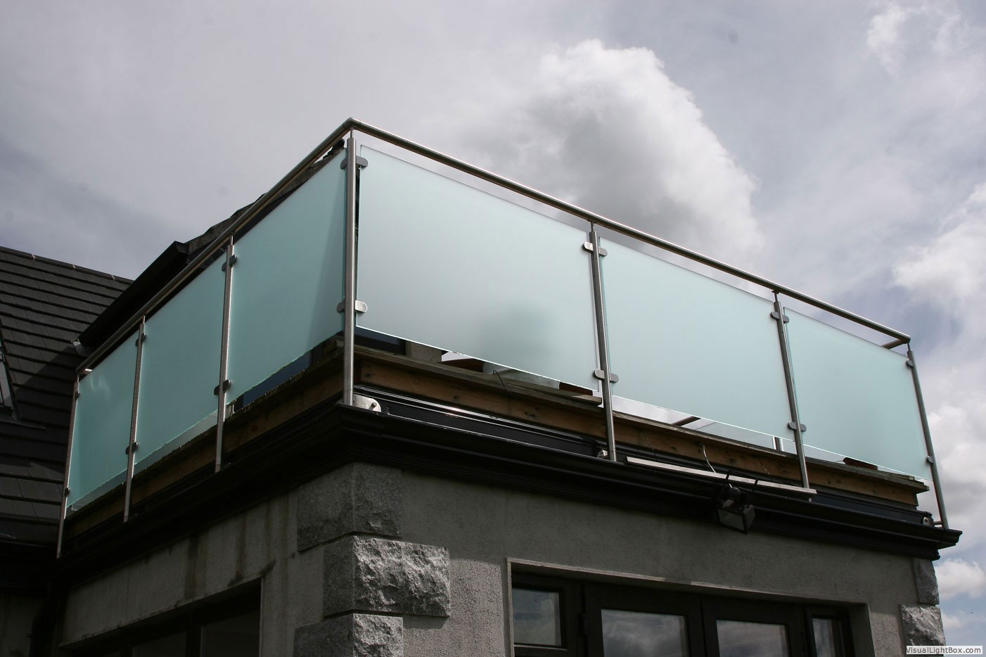 Glass balcony for Balcony balcony